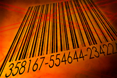 printed Barcode labels file folder tags RFID technology
